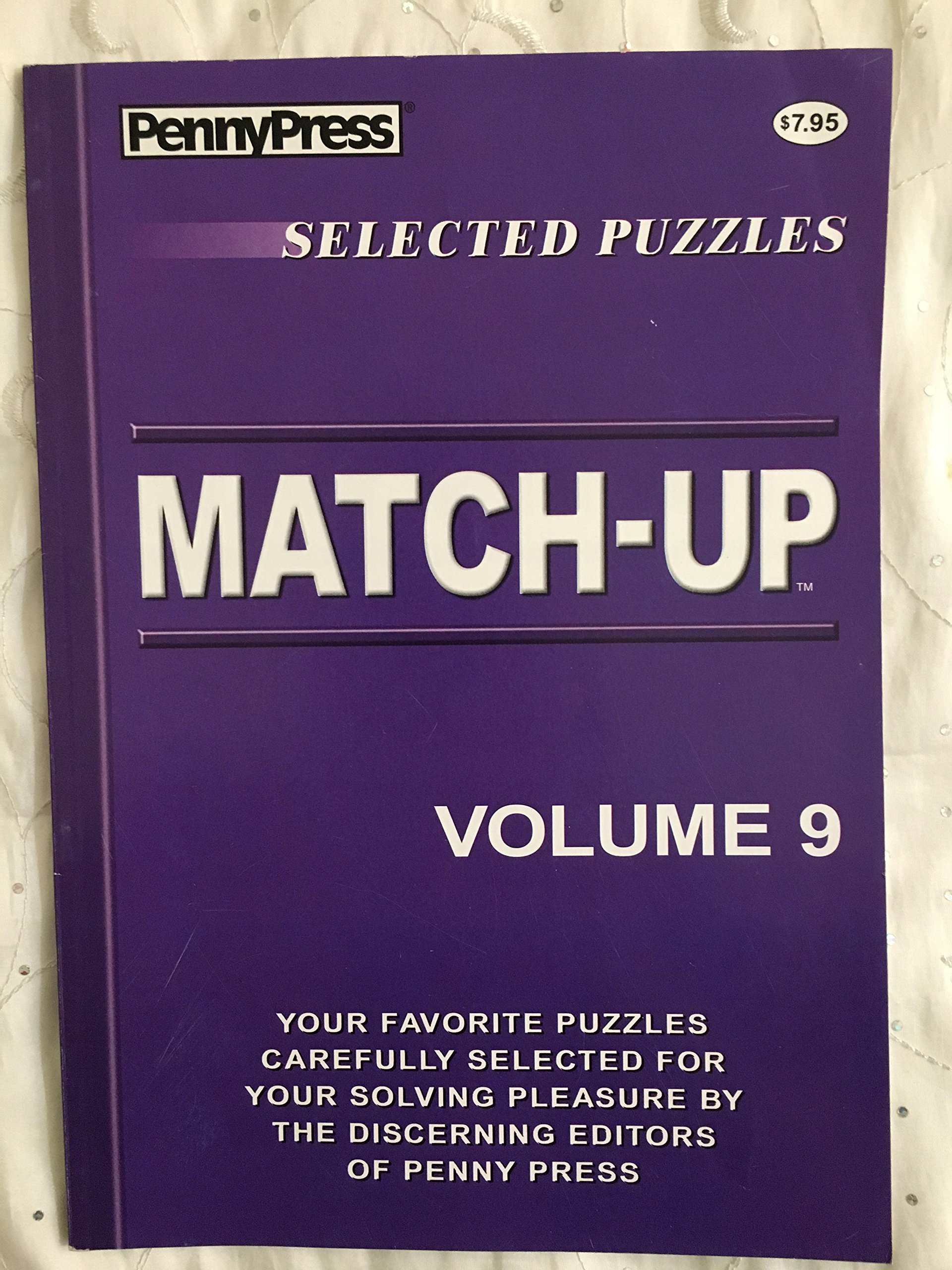 Read Online Penny Press Selected Puzzles Match-Up *Volume 9* Special Collection ebook