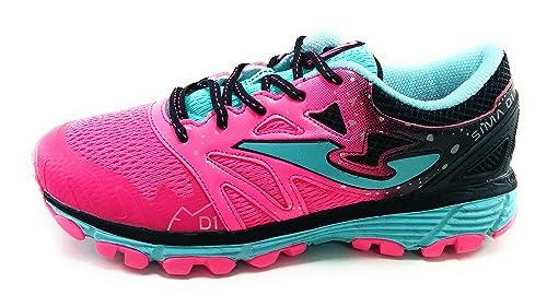 Joma Sima Jr Zapatillas niña Mujer Running Trail: Amazon.es: Zapatos y complementos