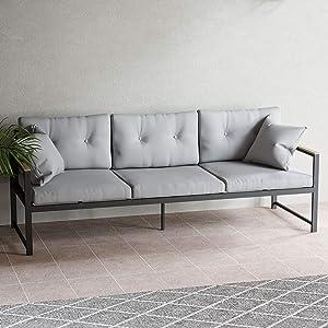 EdenbrookCliffsideMetalPatio Furniture - Mix and Match Modern Outdoor Furniture Pieces
