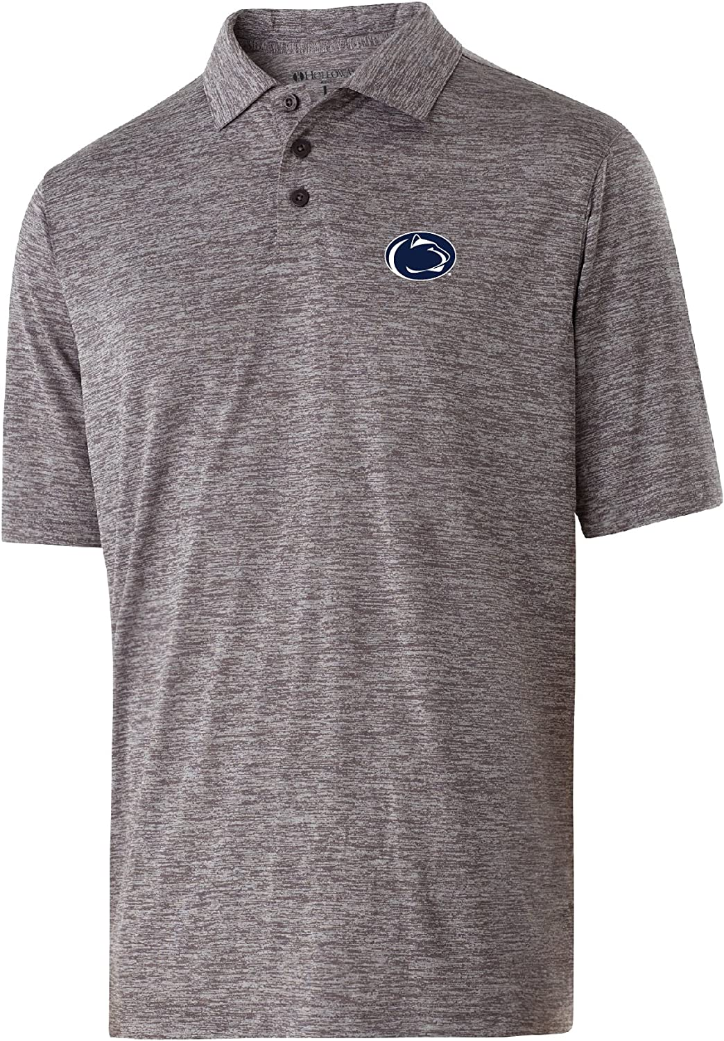 Small Ouray Sportswear NCAA Penn State Nittany Lions Electrify 2.0 Polo Shirts Graphite Heather