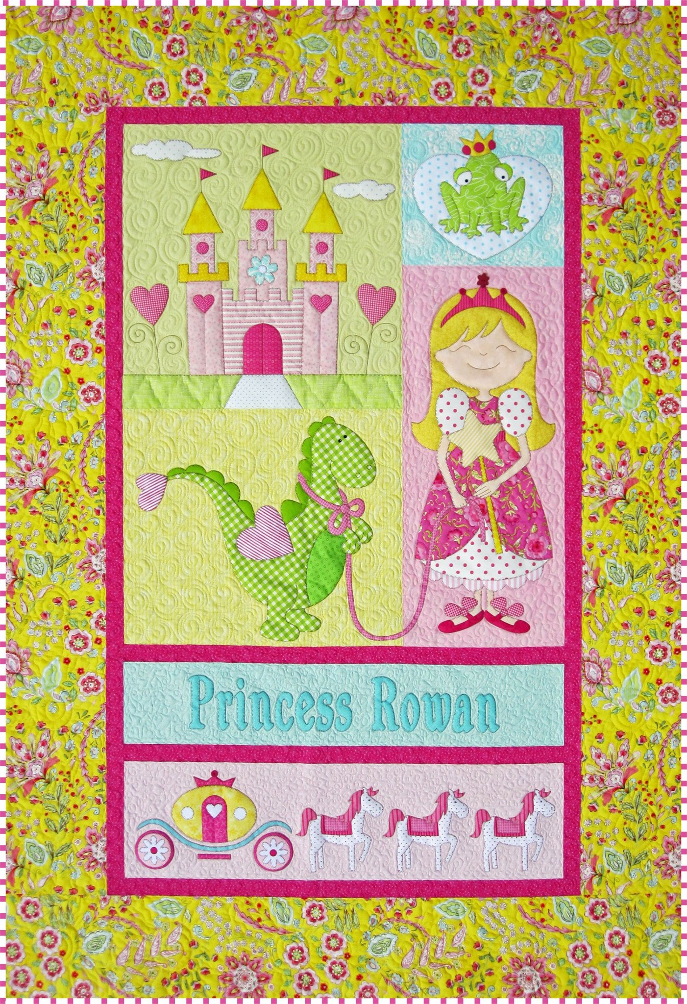 Amy Bradley Designs ABD263 Princess Quilt Pattern by Amy Bradley Designs