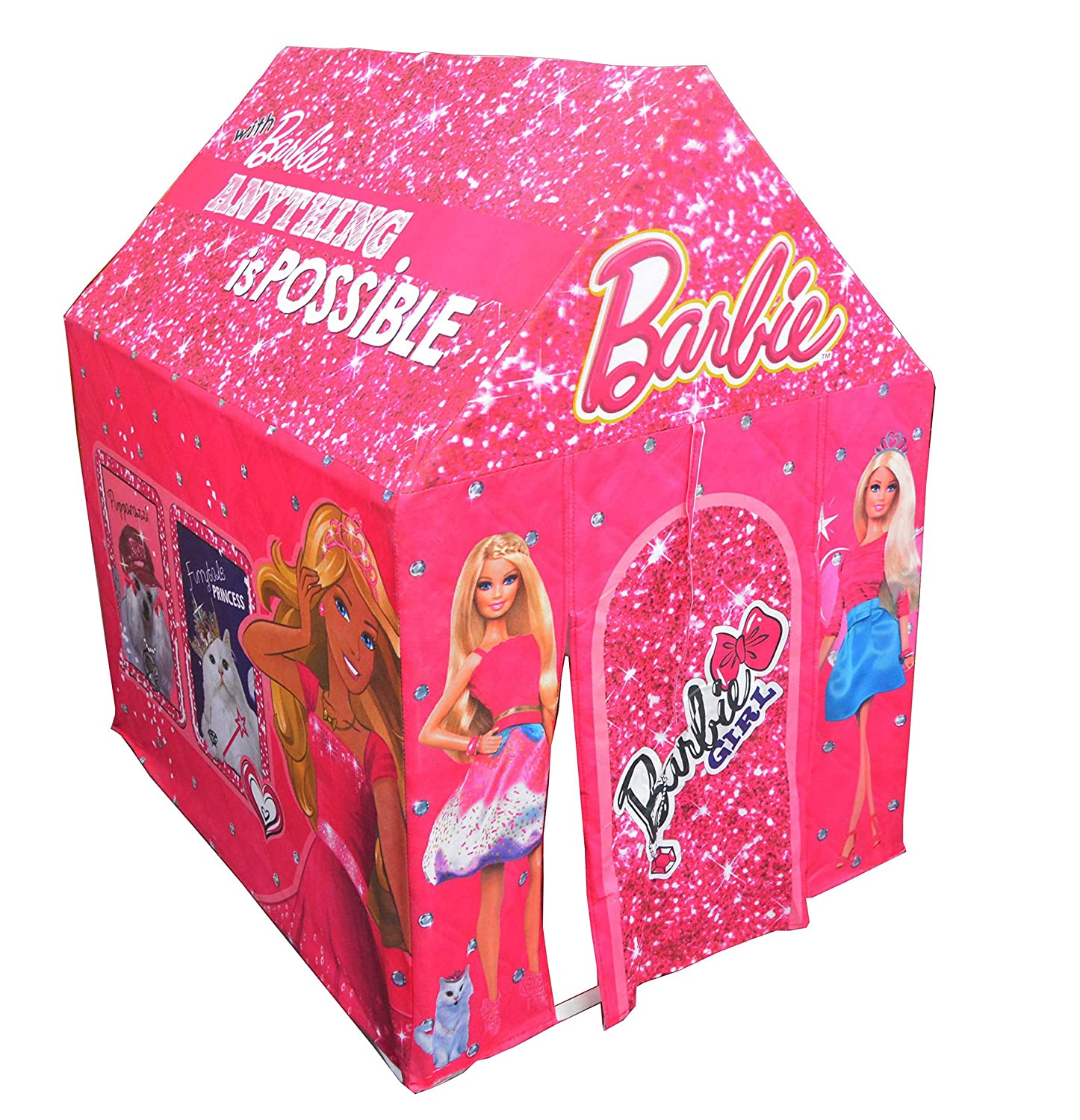 Buy Mattel Barbie Play Tent House Multi Color Online at Low Prices in India - Amazon.in  sc 1 st  Amazon.in & Buy Mattel Barbie Play Tent House Multi Color Online at Low ...