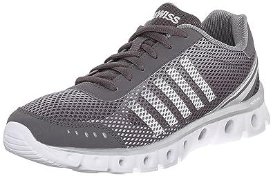 Herren Scarpe Sneaker, Charcoal/High Rise/White, 41 EU K-Swiss
