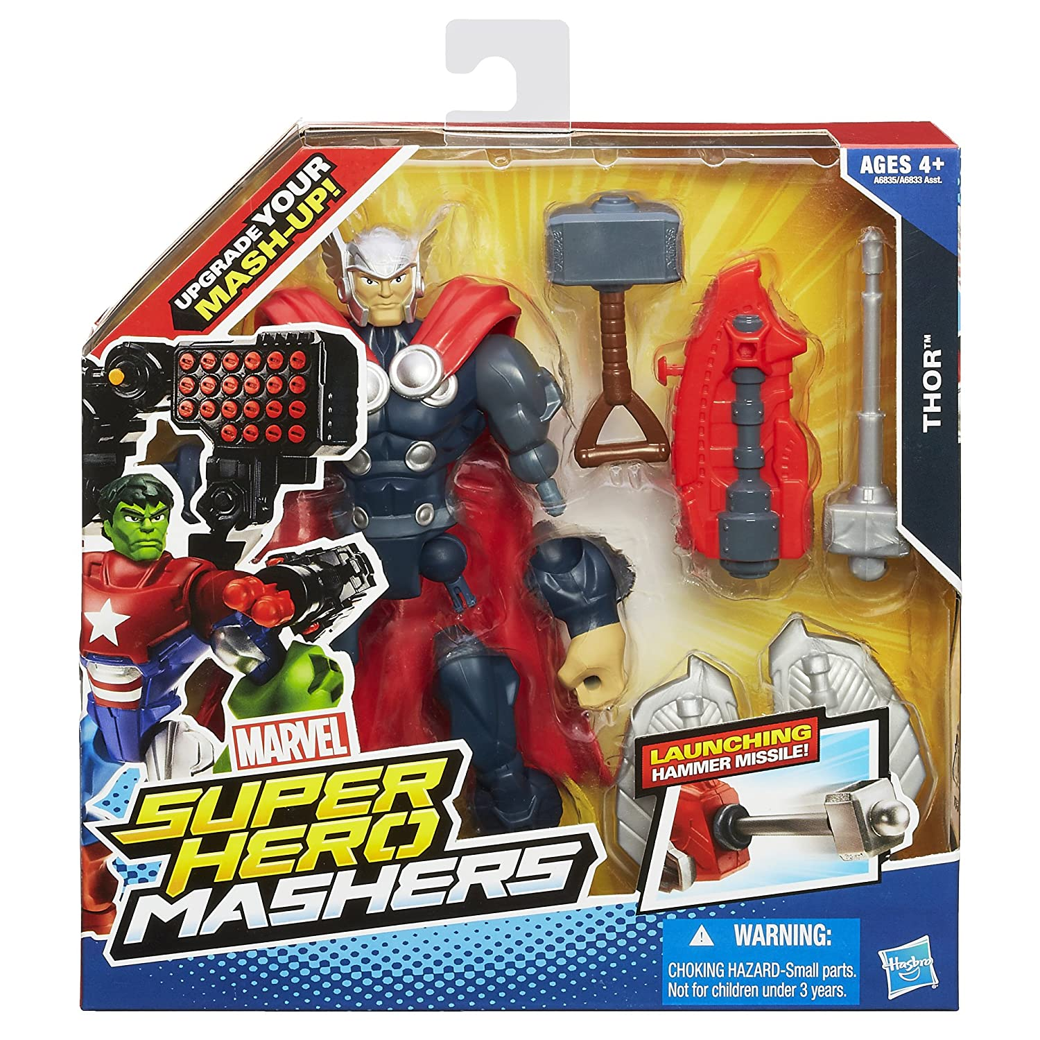 Amazoncom Marvel Super Hero Mashers Thor Figure Inches Toys - 18 then and now photos of your favourite on screen superheroes