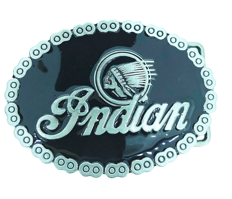 Fibbia di Cintura Indian Motorcycle Gemelolandia