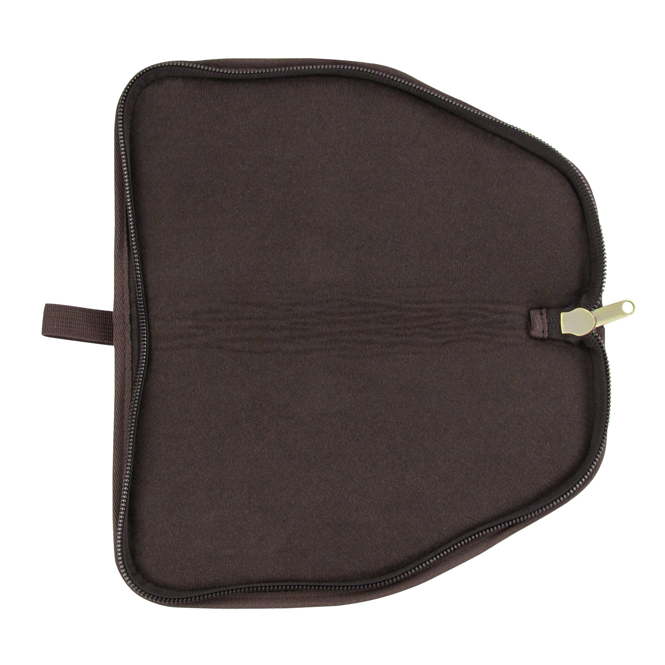 TOURBON Canvas Hand Gun Pouch Pistol Rug with Gun Accessories Pocket by TOURBON (Image #3)