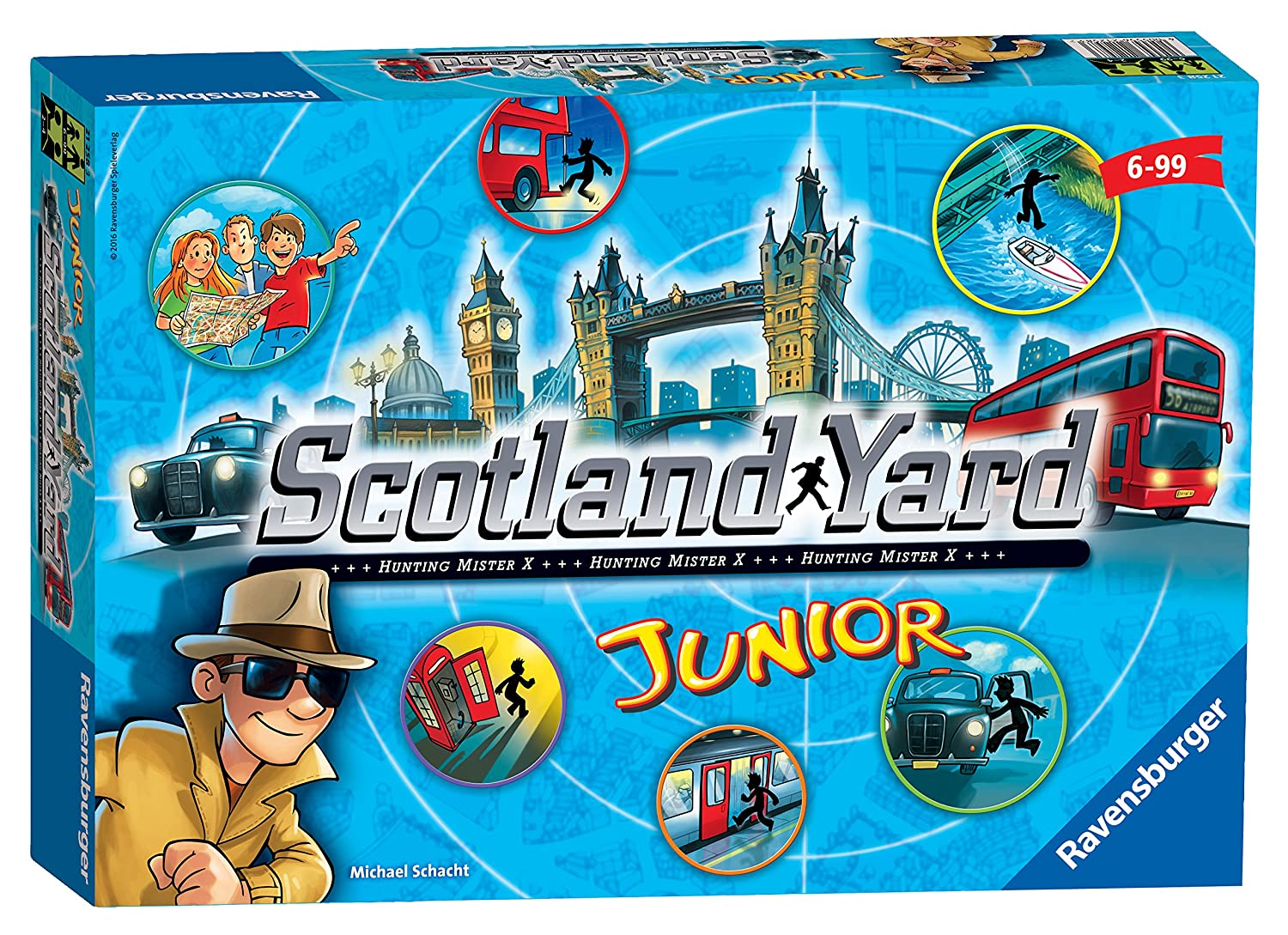 Ravensburger Scotland Yard Junior - The Hunt for Mr X