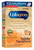 Amazon Price History for:Enfagrow Toddler Transitions Infant and Toddler Formula - 28 oz Powder Box
