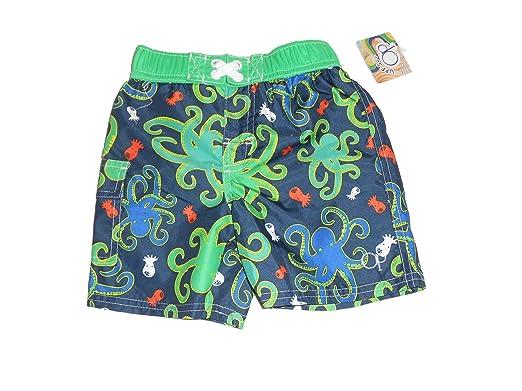 9690b8cc81227 Ocean Pacific OP Infant Baby Toddler Boys Swim Trunks Board Shorts Swimwear  (Multi, 3T): Amazon.co.uk: Clothing