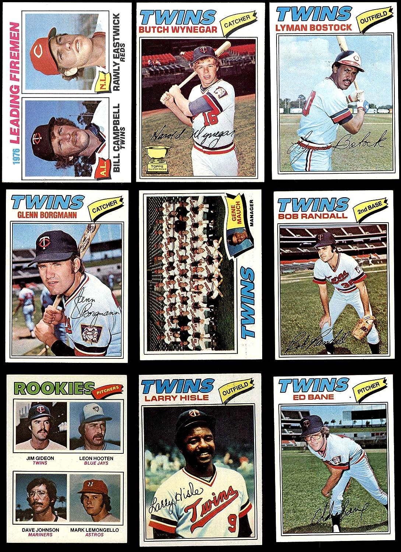 1977 Topps Minnesota Twins Near Team Set Minnesota Twins (Baseball Set) Dean's Cards 6 - EX/MT Twins 913m3RizNFL