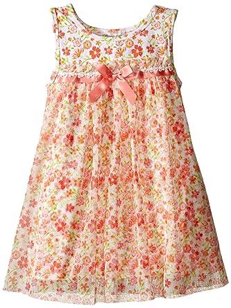 74aacebf6232 Amazon.com  Bonnie Jean Girls  Knit Float Dress.  Clothing