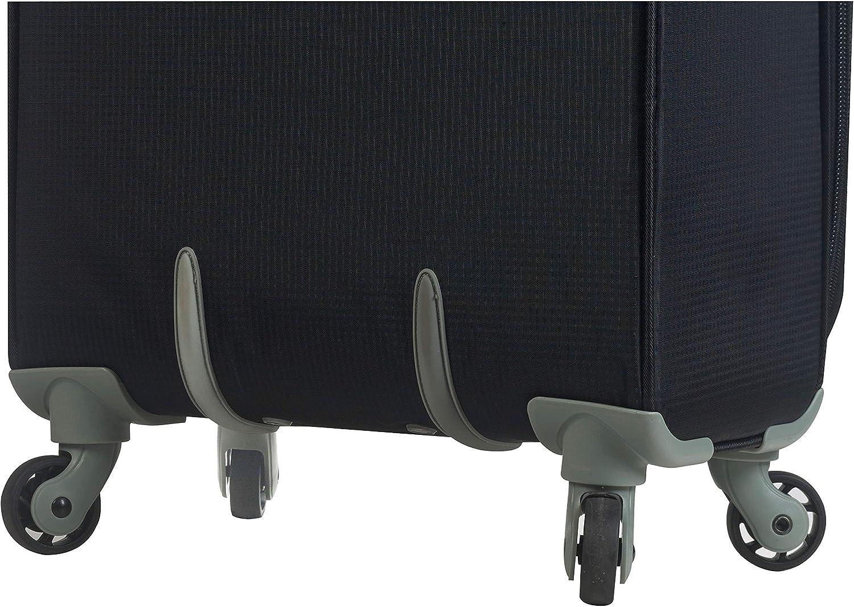 Mia Toro Italy Campiglio Softside Spinner Carry-on Grey