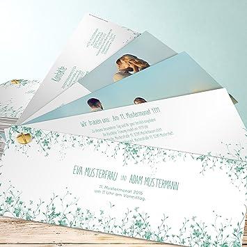 Einladung Hochzeit Selbst Gestalten Fruhlingswiese 100 Karten