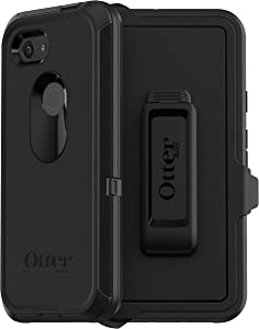 OtterBox Defender Series Case for Google Pixel 3a - Retail Packaging - Black (77-61233)
