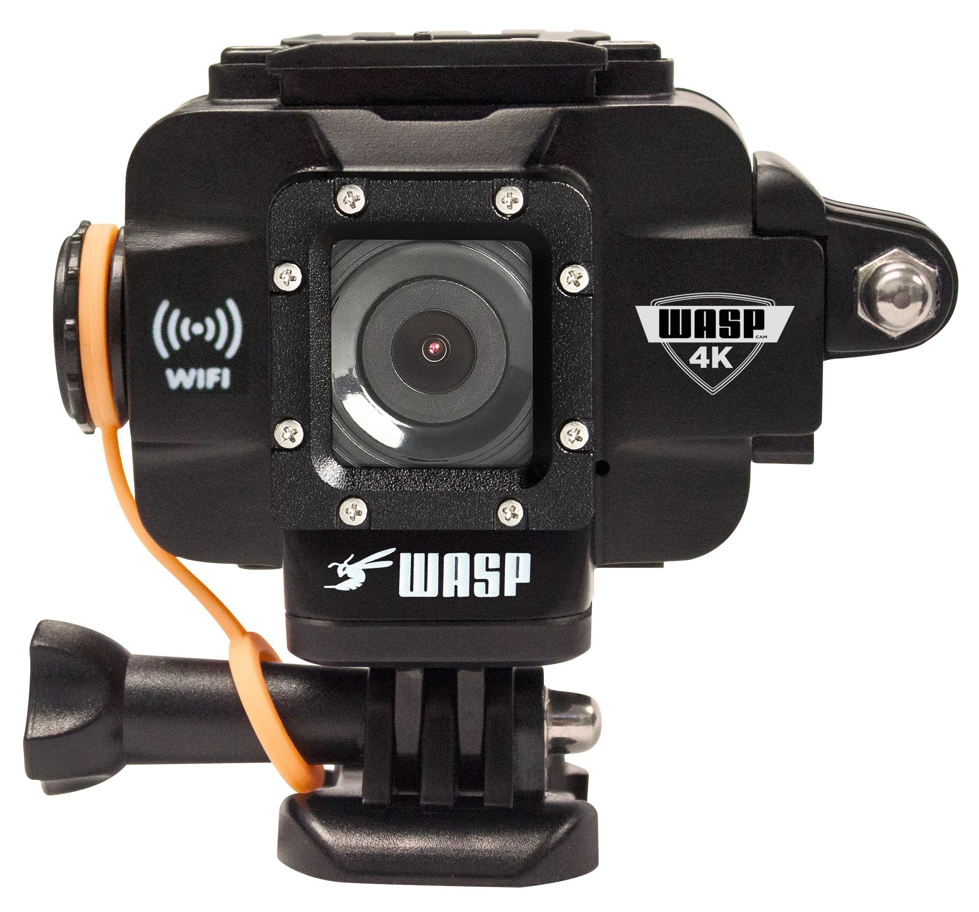 WASPcam 4K 9907 Action-Sports Camera, Black by WASPcam