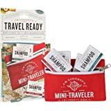 J·R·LIGGETT'S All-Natural Traveler Shampoo Bars .65oz and Mini Traveler Pouch Pack, Supports Strong and Healthy Hair…