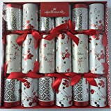 Deluxe Christmas Crackers 6 Pack - 2016 Limited Edition 33cm Large Luxury Crackers By Hallmark