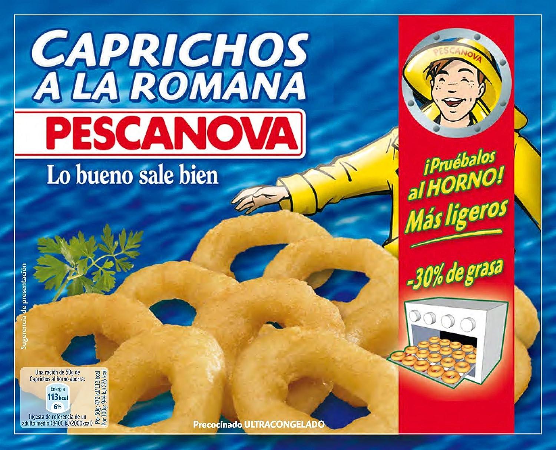 Pescanova Caprichos a La Romana - 400 gr: Amazon.es: Alimentación y bebidas