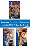 Harlequin Special Edition January 2017 Box Set 1 of 2: A Fortune in Waiting\The Cowboy's Runaway Bride\Winning the Nanny's Heart