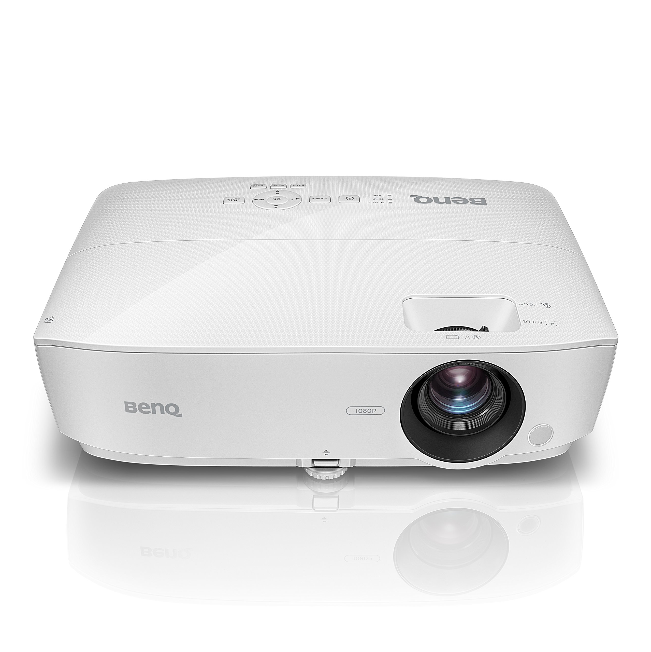 BenQ MH535A 1080p 3600 Lumens HDMI Vibrant DLP Color Projector for Home and Office by BenQ