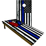 BackYardGamesUSA Premium Wooden Cornhole Board Set - 4'x2' Regulation Size Set | Includes 8 Cornhole Bags