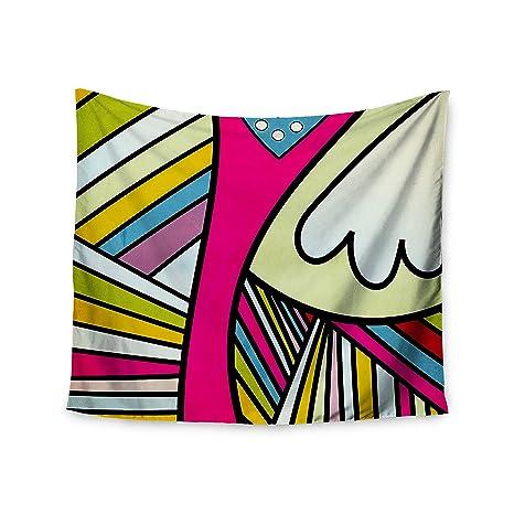 Kess InHouse Danny Ivan Fake Colors Wall Tapestry 51 X 60