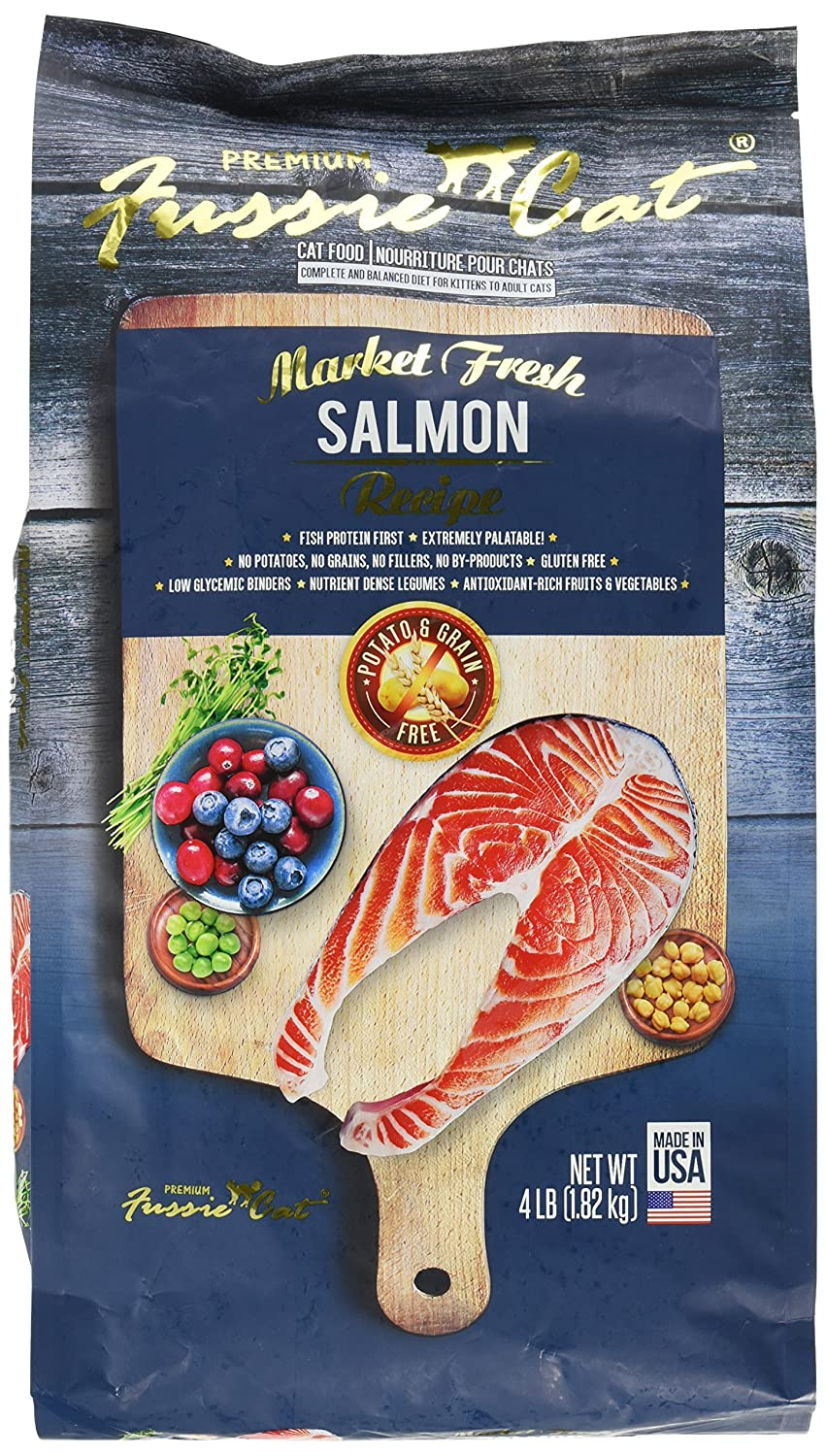Fussie Cat Market Fresh Salmon Recipe, 4 Lb