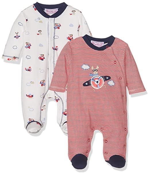 Mayoral 2723 Set 2 Pijamas Interlock, Bebés, Red, 2M-4M