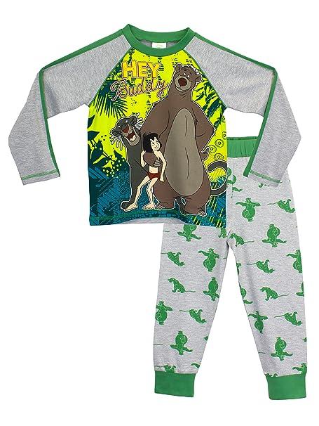 Disney El libro de la selva - Pijama para Niños - Mowgli y Baloo - 4