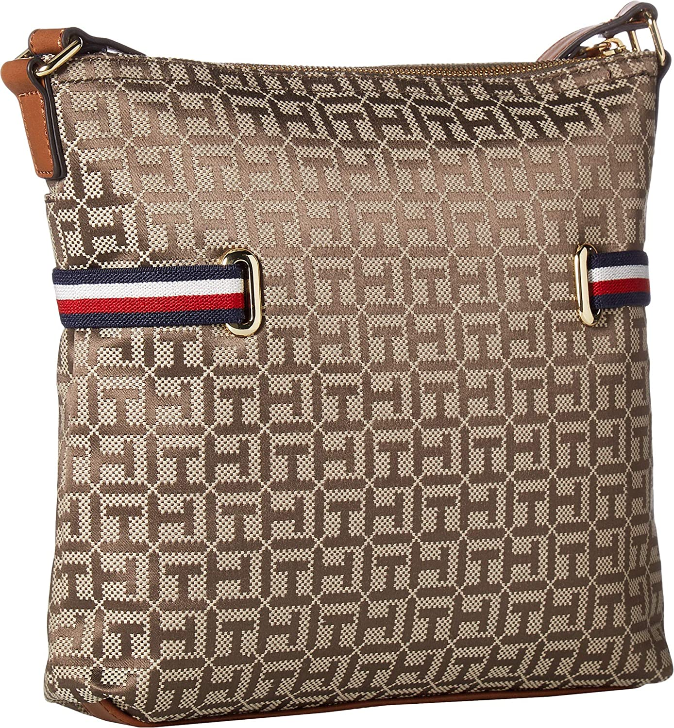 Tommy Hilfiger Womens Sanford North//South Crossbody