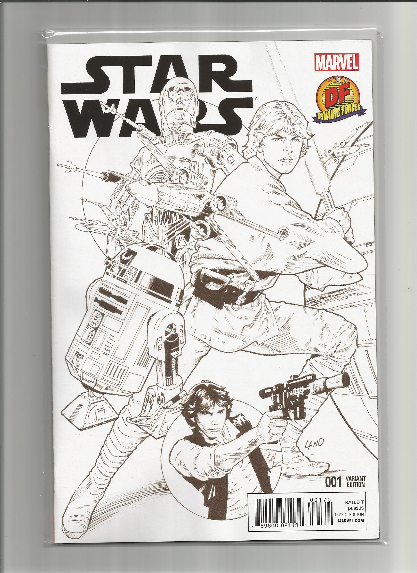 Star Wars #1 DF 1 of 3000 special limited series with COA PDF Text fb2 book