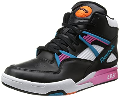 retro reebok pump trainers restaurant