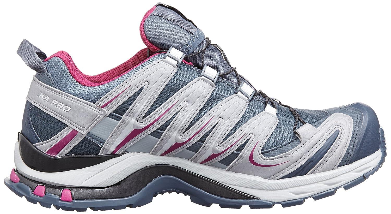online store 467d3 2ea43 Salomon Women s s Xa Pro 3D Gtx Trail Running Shoes Denim Pearl Grey Mystic  Purple), 5 UK 38 EU  Amazon.co.uk  Shoes   Bags