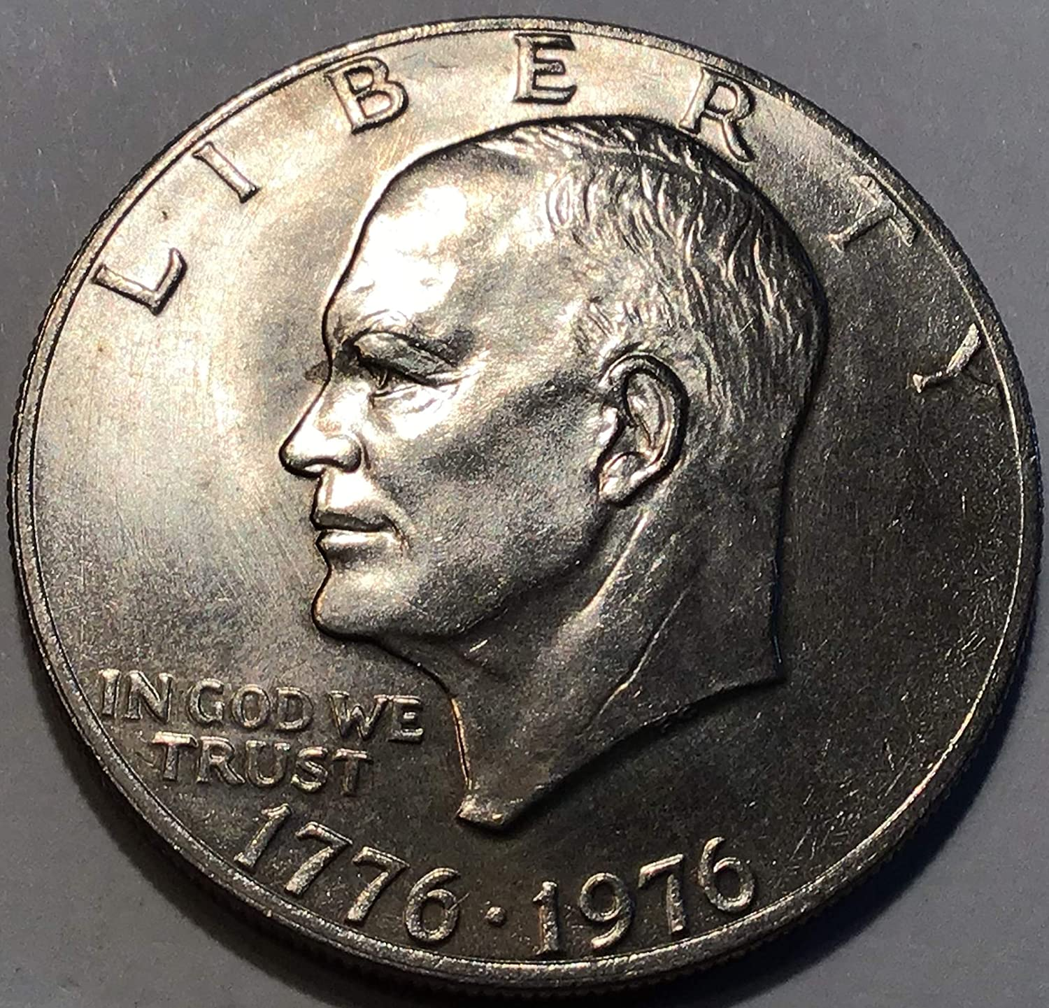 "1974-D Eisenhower Dollar US Coin in /""About Uncirculated/"" Condition Ike"