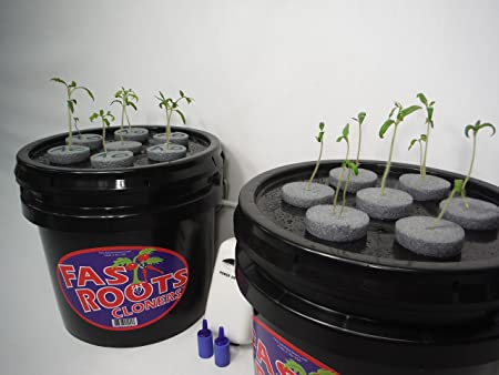 Indoor Aeroponic Clone Germination Machine Misting System Pump Filter Rooting