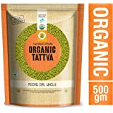 Organic Tattva Moong Dal Whole, 500g