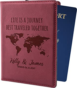Knitting Books Christmas Leather Passport Wallet for Passport Holder for Safe Trip durable Easy to Carry