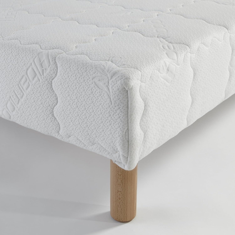 Atelier de Morphée Somier tapicería (60 x 120 Madera Maciza ...