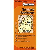 Michelin Germany Southwest Map 545