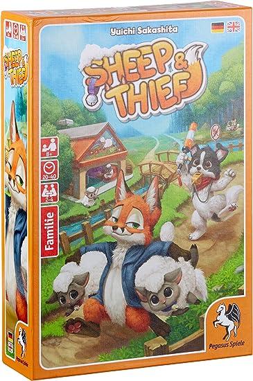 Pegasus Juegos 51218 g Sheep y Thief, Juego de Cartas: Amazon.es: Juguetes y juegos
