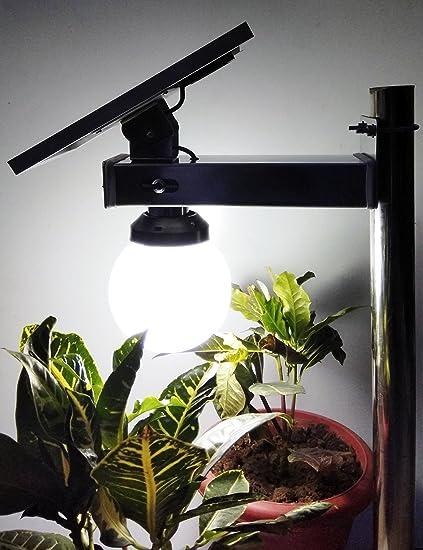 SOLAR GREEN Solar Garden Light, 29x20cm (White)