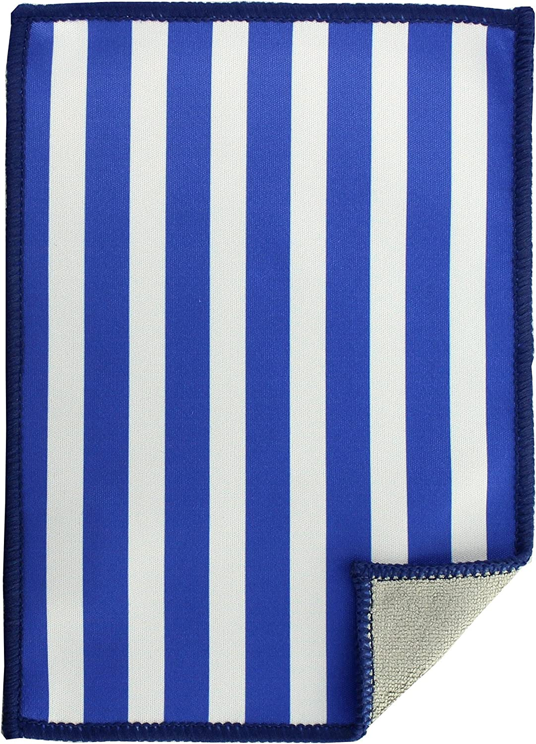 Toddy Gear Microfiber Screen Cleaning Cloth for Cell Phones, Tablets and Electronic Screens, 5 x 7 Inches, Anchors Aweigh Blue (PD6021)