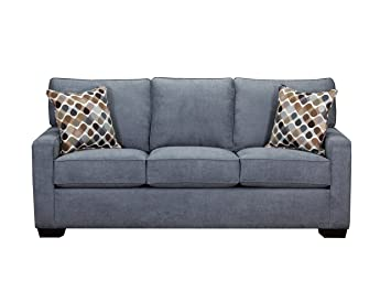 Simmons Upholstery 9025-03 Mia Denim Sofa,