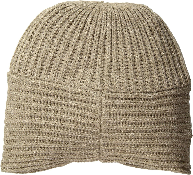 4aa372f09ce Calvin Klein Women s Turban Beanie Heathered Almond One Size at Amazon  Women s Clothing store