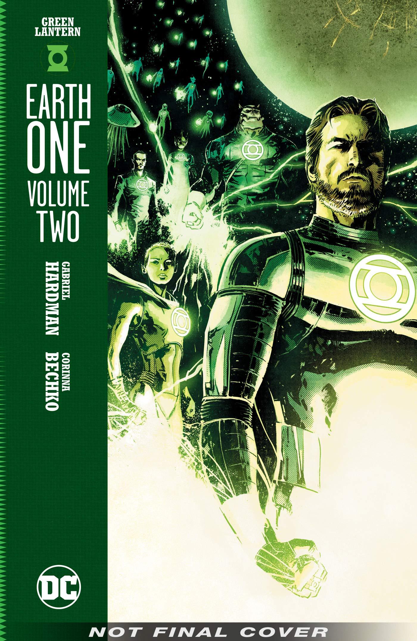 DC Comics Terra Uno Lanterna Verde Hal Jordan