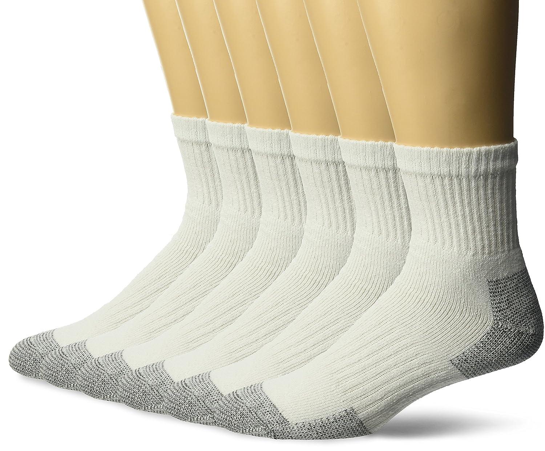 Fruit of the Loom CREW Socks gepolsterte Sohle Sport Socken Strümpfe 3er Pack