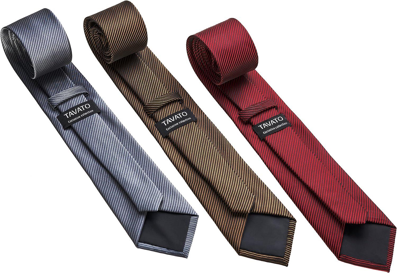 Premium Men/'s Gift Tie Set Silky Necktie Pocket Squares Tie Clips Cufflinks For Men