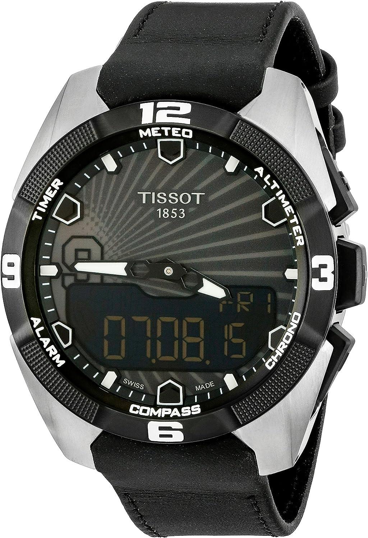 Tissot Men's T091.420.46.061.00 'T Touch Expert' Black Dial Solar Tony Park Limited Edition Swiss Quartz Watch