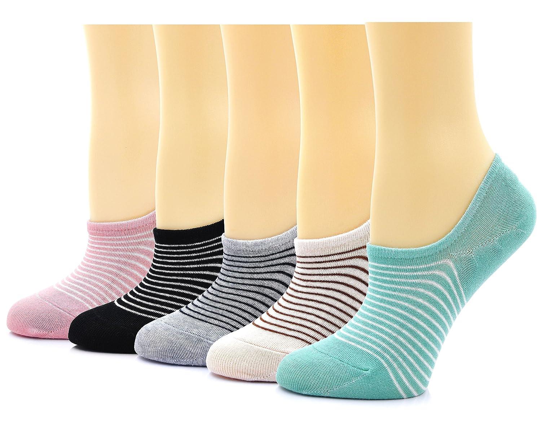 Unterwäsche & Schlafanzug 5 Paar Sommer Spitze Kurze Socken Silikon Rutschfeste Low Cut No Show Söckchen Hausschuhe Frauen Mädchen Einfarbig Unsichtbare Socken