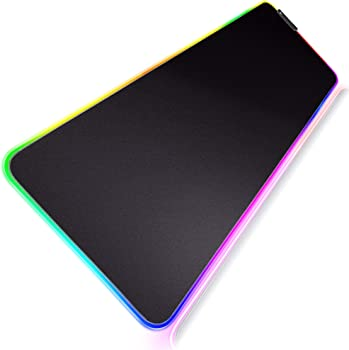 Gimars RGB LED Gaming Mouse Pad